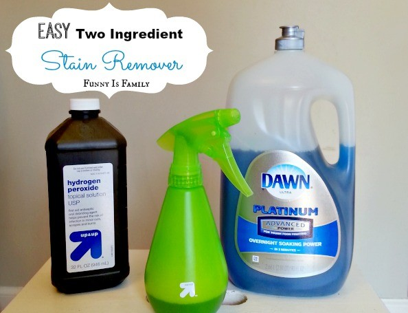 Easy Homemade Stain Remover