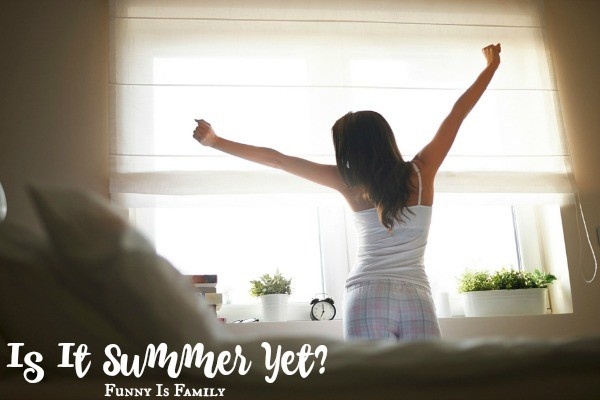 Raise your hand if you're excited for summer mornings!