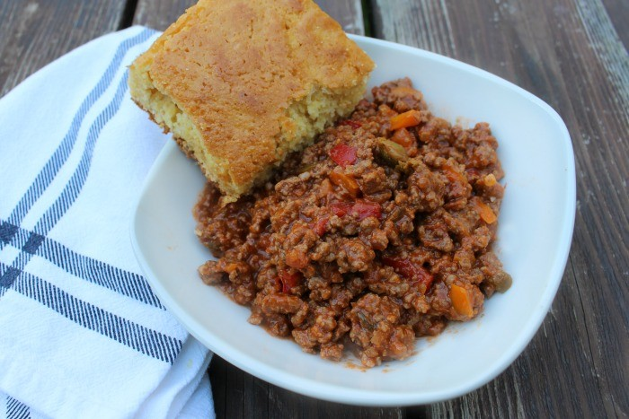 This Crockpot Picadillo has the most delicious flavor and is excellent over rice, on a bun, or as a lower calorie main dish!