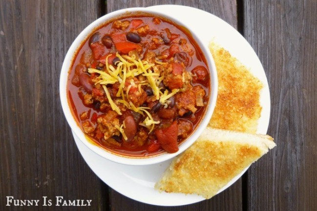 This Crockpot Turkey Chili is easy, versatile, and delicious!