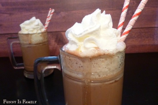 This Crockpot Nutella Hot Chocolate will knock your socks off! Perfect for Christmas, holiday parties, or just a chilly day, this slow cooker drink will be a hit!