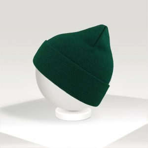 EKO beanie Atlantis pine green custom adult hat