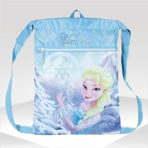 mochila gym sack frozen walt disney backpack