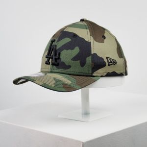 Gorra de niño New Era 9forty Youth Los Ángeles camuflaje niña