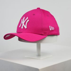 Gorra de niño New Era 9forty Youth NY Yankees fucsia