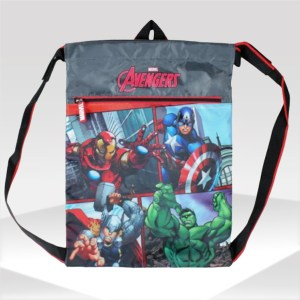 mochila gym sack vengadores avengers marvel backpack