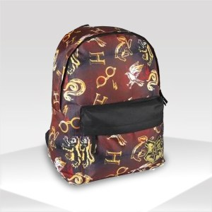 Mochila escolar infantil HARRY POTTER color burdeos