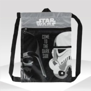 mochila gym sack star wars darth vader stormtrooper backpack