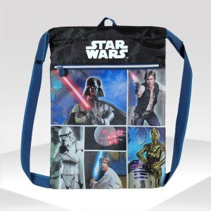 mochila gym sack star wars jedi sith backpack