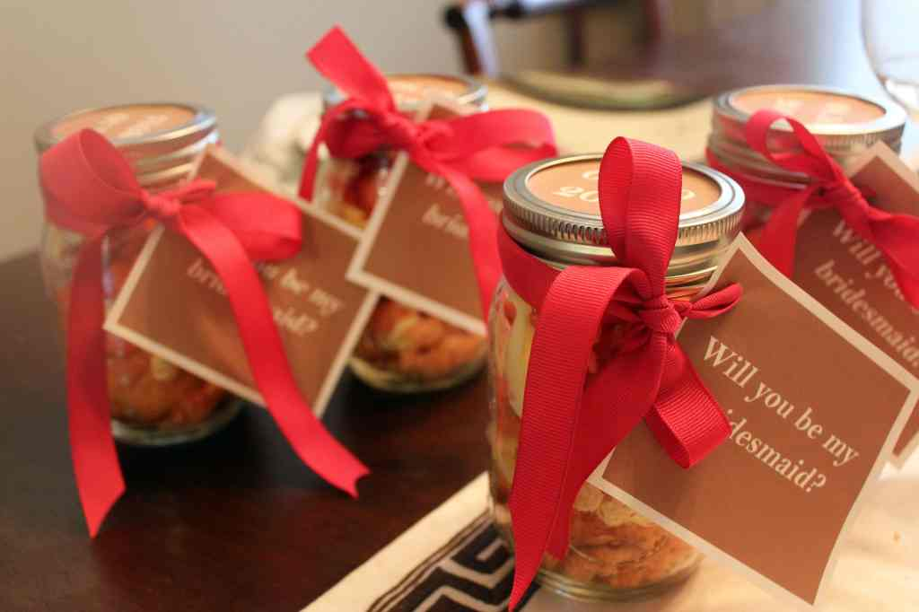 Jars with bows