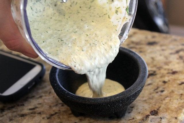 Pour into a bowl