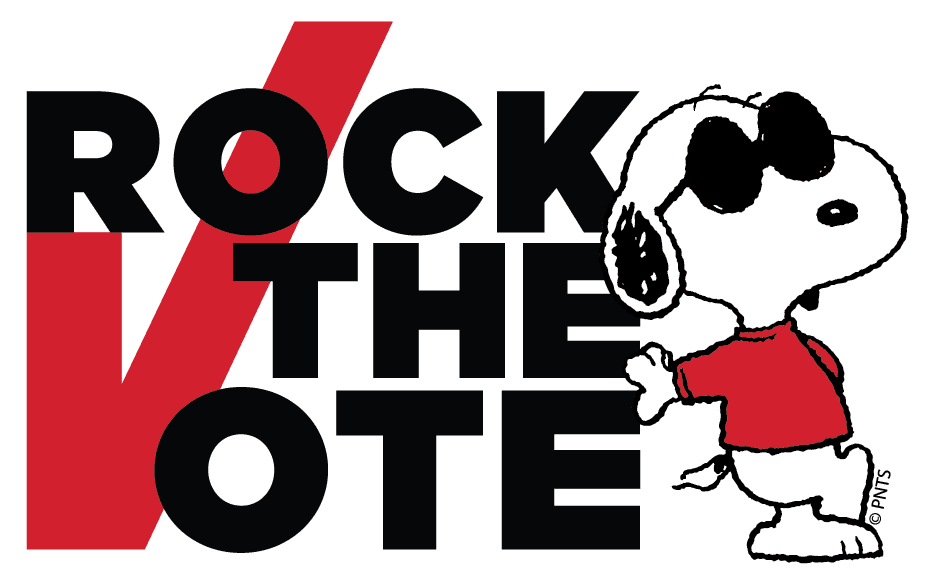 peanuts-rock-the-vote-logo