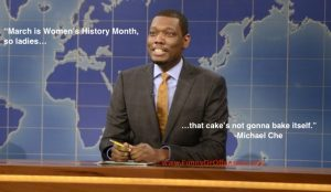 Michael Che on Women's History Month