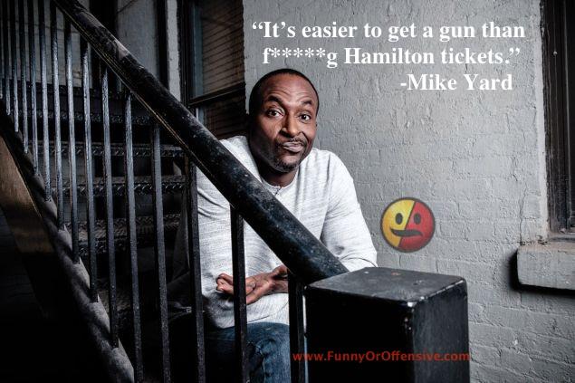 Mike Yard on Guns