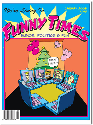 Funny Times January 2008 issue cover