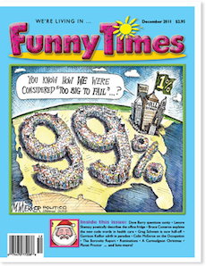 Funny Times December 2011 Issue Cover