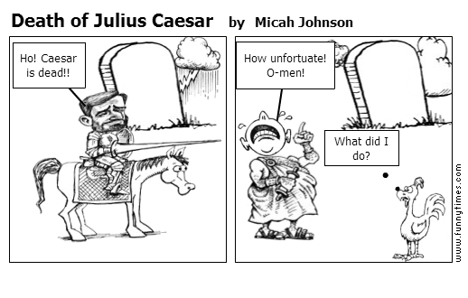 Caesar Political Cartoon