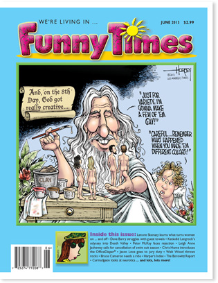 Funny Times June 2013 issue cover