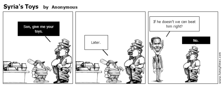 Syria's Toys by Anonymous