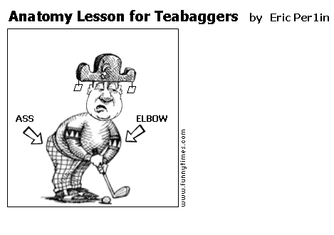 Anatomy Lesson for Teabaggers by Eric Per1in
