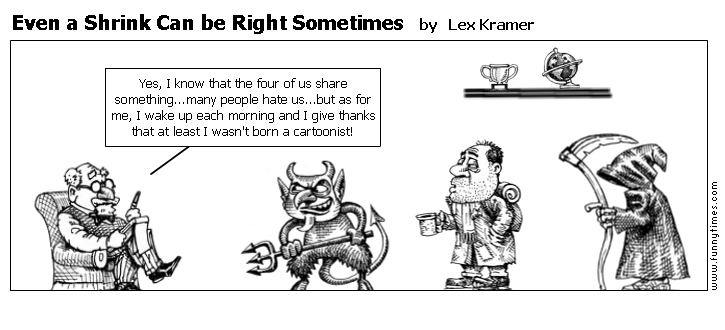 Even a Shrink Can be Right Sometimes by Lex Kramer