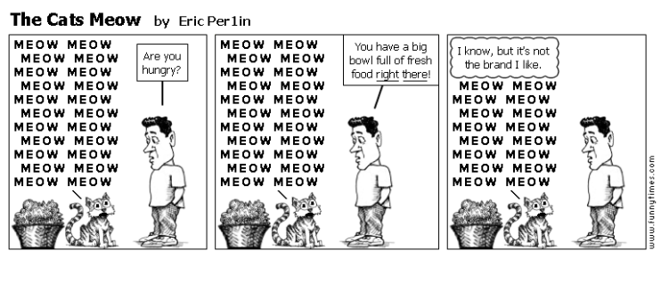 The Cats Meow by Eric Per1in
