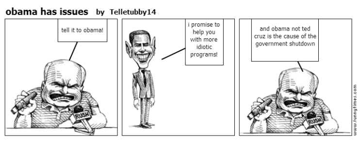obama has issues by Telletubby14
