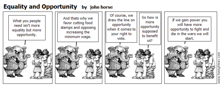 Equality and Opportunity by john horse