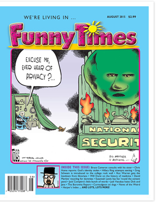 Funny Times August 2015 Issue