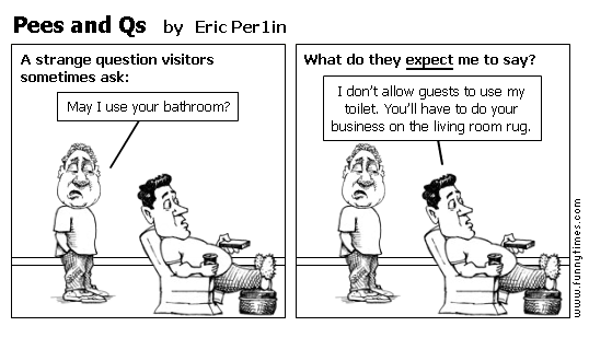 Pees and Qs by Eric Per1in