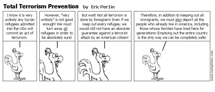 Total Terrorism Prevention by Eric Per1in