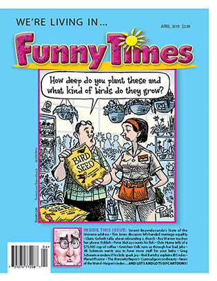 Funny Times April 2019 issue