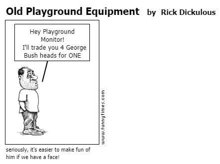 Old Playground Equipment by Rick Dickulous