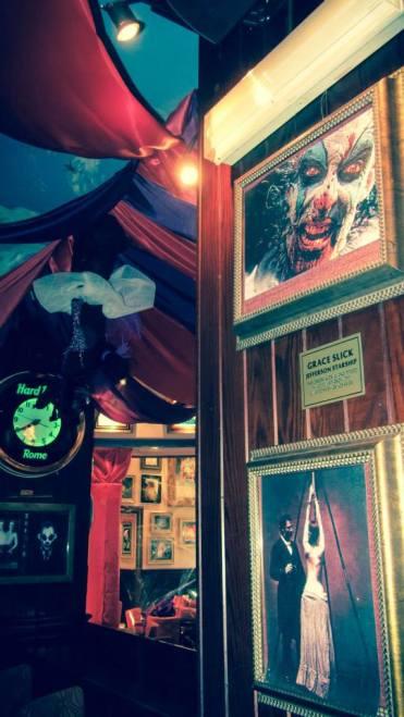 halloween, circo, roma , circo degli orrori, allestimento , scenografia, funny yummy