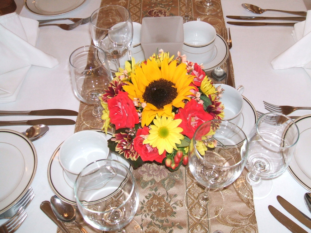 Ideas For Inexpensive Wedding Centerpieces