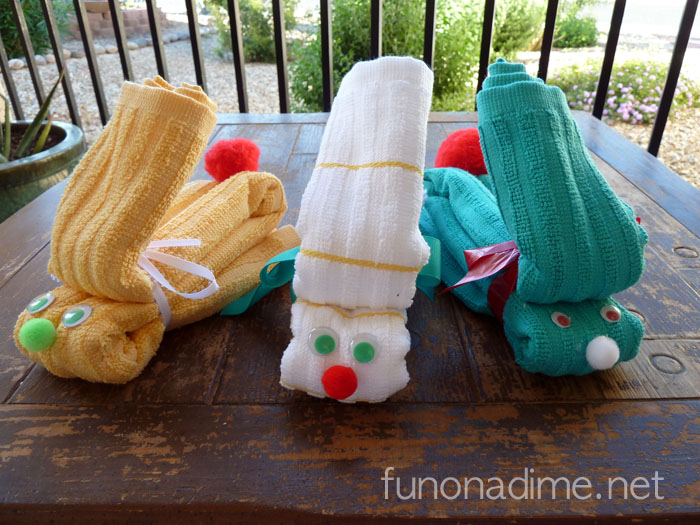 Dishtowel Bunny Tutorial - Cute spring or Easter gift