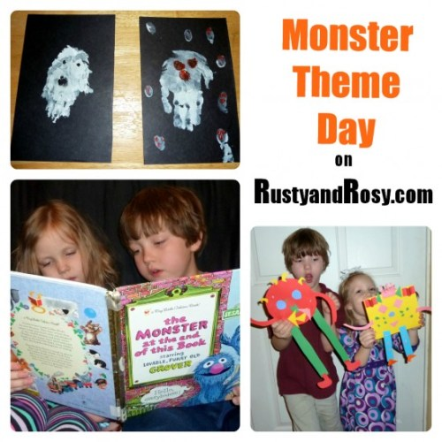 Monster Theme Day Ideas
