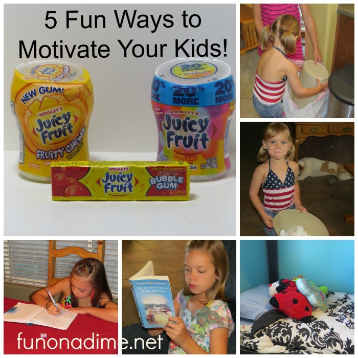 5 fun ways to motivate your kids