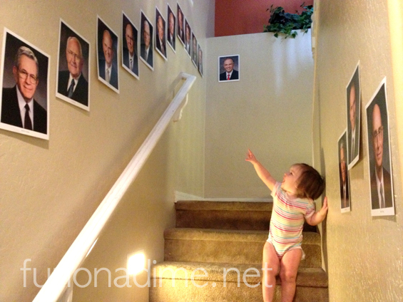 General Conference Ideas to help kiddos and families prepare. My kiddos love to walk by them and see if they can name them all.