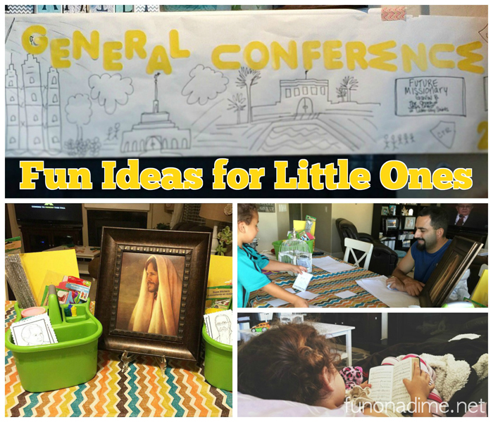 general conference ideas for little ones - games, free printable, quiet activities