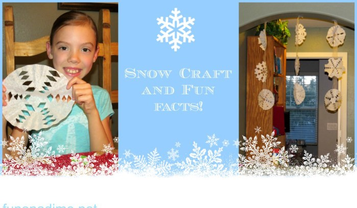 HEADER snow craft and fun facts