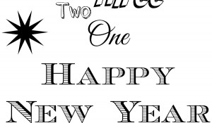 New Year Free Printable Header