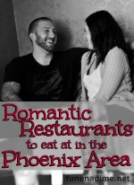 Romantic Restaurants in the Phoenix Area
