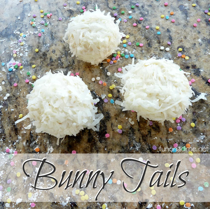 Bunny Tails - Easy cupcake treat