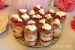 Easy Strawberry Shortcake In a Jar