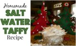 Yummy Salt Water Taffy Recipe