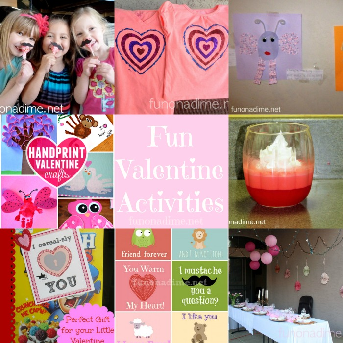10+ Fun Valentine Activities, Cards and Crafts