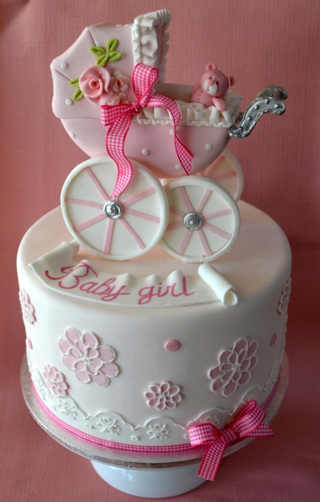 Simple Baby Shower Cakes
