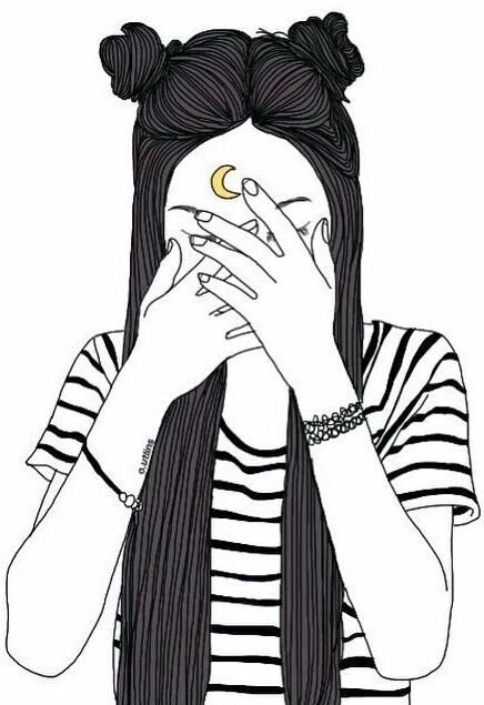 Dibujos Tumblr Para Pintar De Chicas Resultado De Imagen