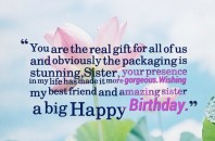 Birthday Quotes for Sister best friend